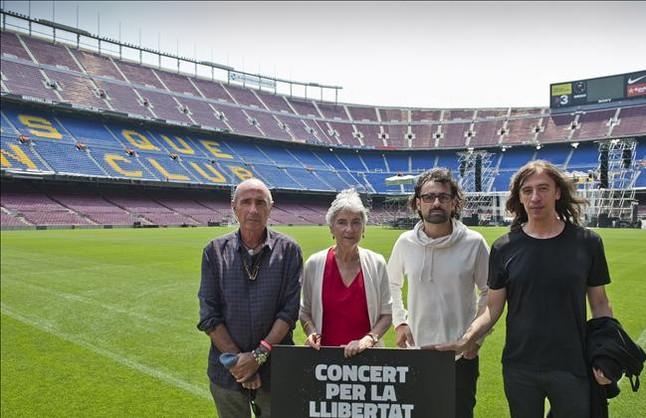 Òmnium cifra en unos dos millones el coste del concierto