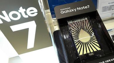 Samsung modera la seva caiguda a la borsa després de la retirada del Galaxy Note 7