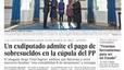 Rubalcaba, Griñán, De la Rosa y Pujol, las caras y cogotes de las portadas de la corrupción