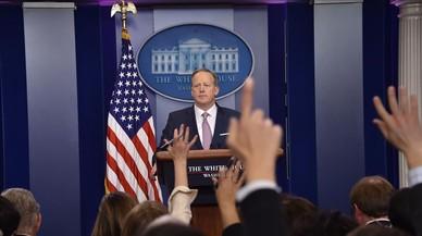 """""""La intención es no mentir"""", dice el portavoz de la Casa Blanca"""
