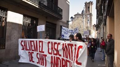 Barcelona impulsa la protección del núcleo antiguo del barrio de Sant Andreu de Palomar