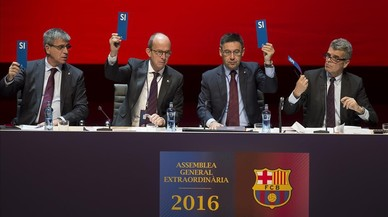 El Barça s'adhereix al Pacte Nacional pel Referèndum