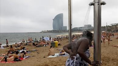 Pugen les temperatures al litoral català