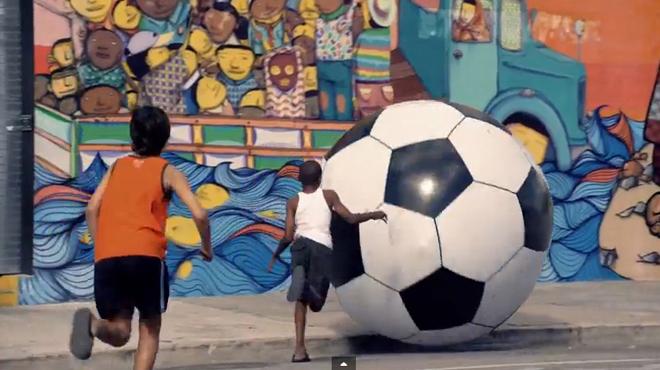 El video de la canción del mundial de Brasil