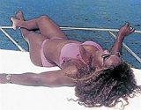 Serena Williams se tuesta al sol en Croacia_MEDIA_1