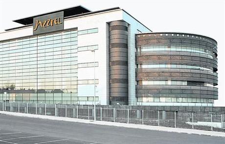 Sede de la compa��a Jazztel en Madrid.