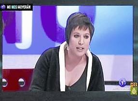 Beatríz Talegón, en la cadena pública Castilla-La Mancha TV.