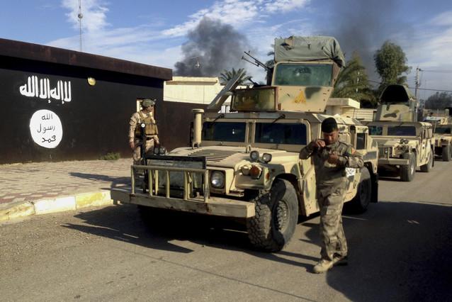 soldados iraquís en Diyala