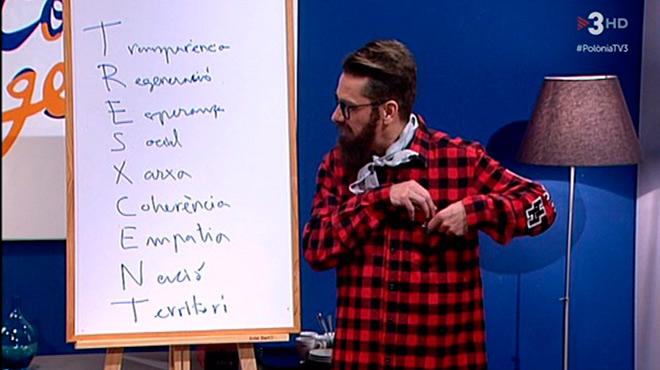 T� y yo somos tres. Por Ferran Monegal. Carnavales en TV-3.