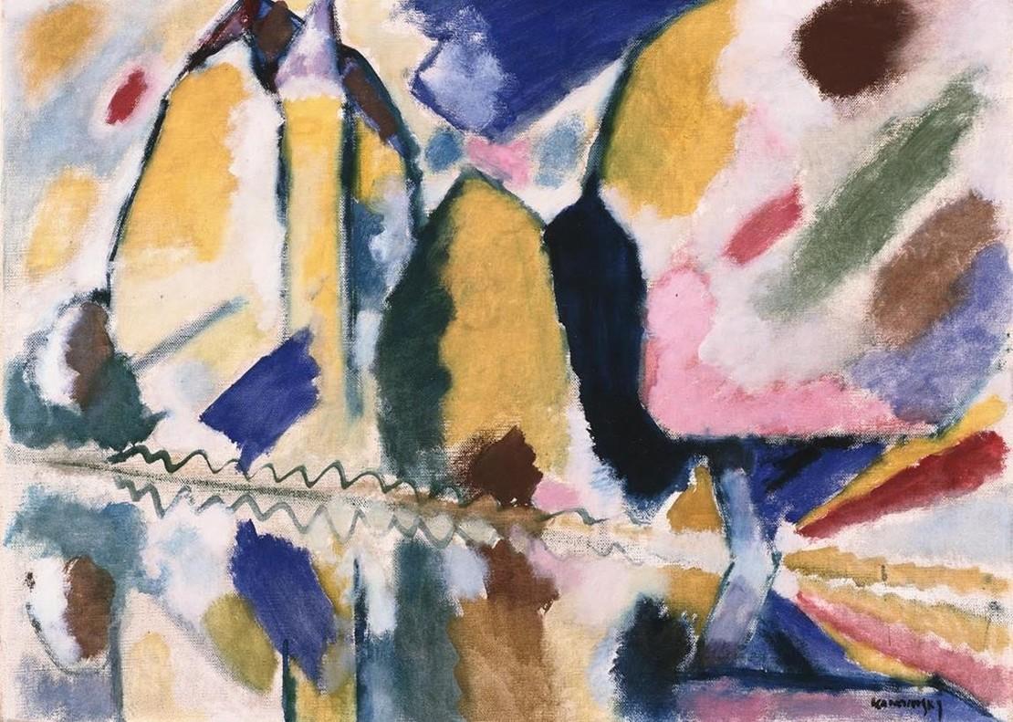Otoño II, de Wassily Kandinsky, en CaixaForum.