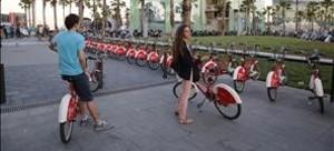 bgasulla34401746 barcelona 22 06 2016 punto de bicicletas de bicing lleno con160810163641