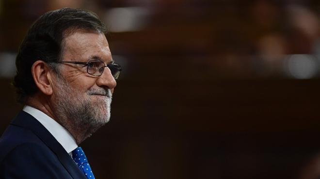 Sesion de investidura de Mariano Rajoy y Brey en el Congreso de los Diputados.