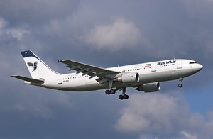 iran air airbus a300 ep-iba arrives london heathrow airport 21september2014 arp
