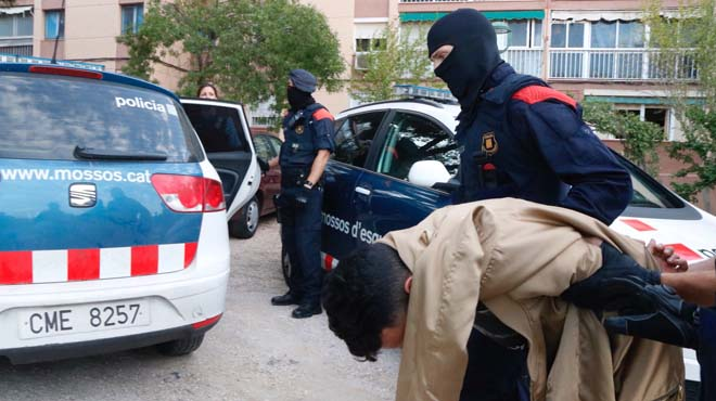 Operació policial antidroga a Tarragona