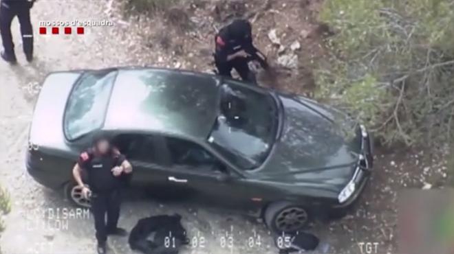 Detenció del presumpte autor del tiroteig de Gavà, que fue arrestat en Canyelles.