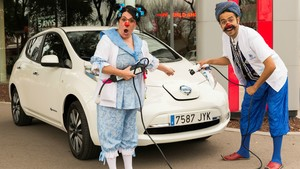 Nissan cede un Leaf a la ONG Pallapupas
