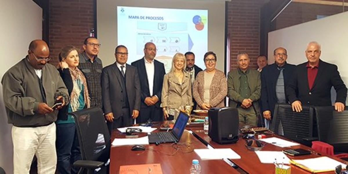 Municipios marroquíes muestran sus proyectos comunitarios en Esplugues y Viladecans