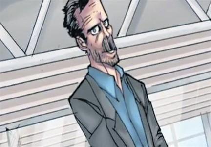 El Dr. House lucha contra los zombis en un cómic