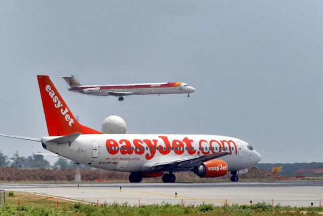 Investigado un incidente a�reo entre dos aviones en El Prat