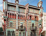 La Casa Vicens, en el barrio de Gràcia.