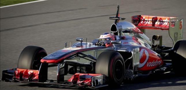 McLaren manda en el inicio de la pretemporada