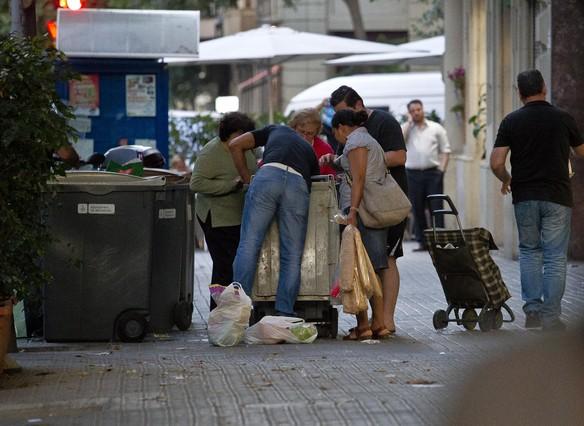 El 21% de la població espanyola està per sota del llindar de la pobresa