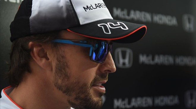 Fernando Alonso, durante el Gran Premio de China.