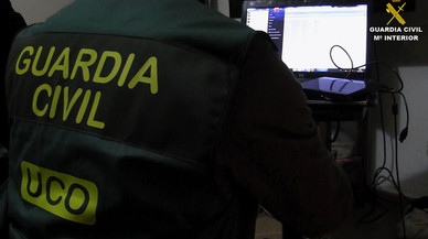 La Guardia Civil desactiva una bomba de aviación en Boadilla hallada en una excavación