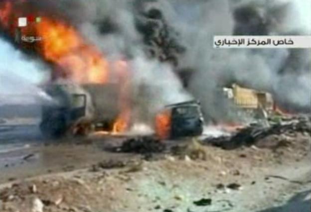 Un cotxe carregat amb explosius provoca almenys 43 morts a la ciutat siriana de Hama