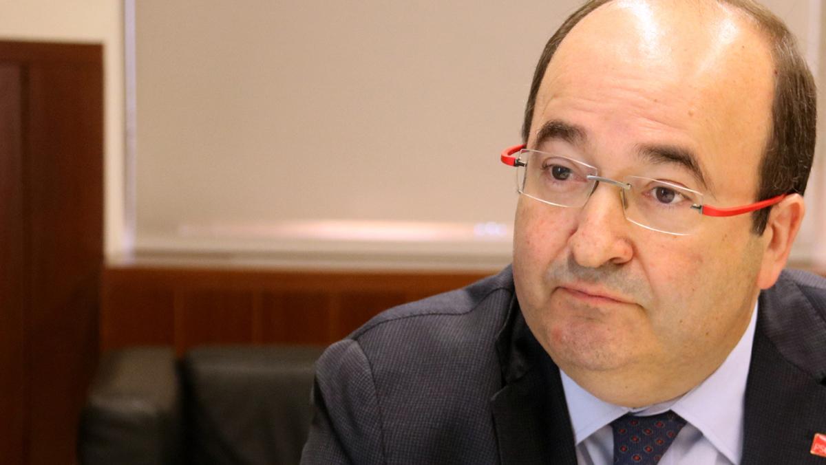 """Iceta asegura que la reforma constitucional """"caerá por su propio peso"""" tras el 1-O"""