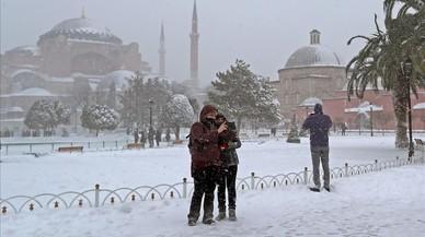 Una onada de fred causa 18 morts a Itàlia i Polònia