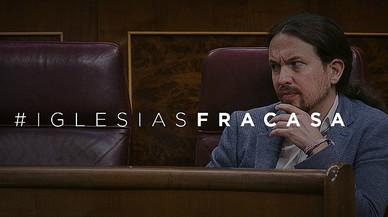 Avalancha de 'hashtags' del PP contra la moción de censura de Podemos