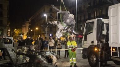 La 'performance' de Franco decapitat