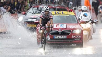 Tom Dumoulin s'estrena al Tour amb una victòria sota la calamarsa a Arcalís