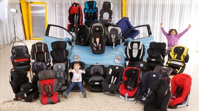 Las sillas infantiles, el mejor sistema de retención en carretera para los menores