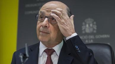 El ministro de Hacienda, Crist�bal Montoro.