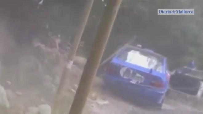 Quatre ferits greus en un accident en un ral·li a Mallorca