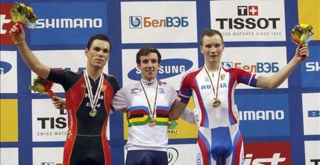 Eloy Teruel, plata en el Mundial de pista