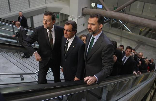 Mas critica el déficit de infraestructuras de Catalunya