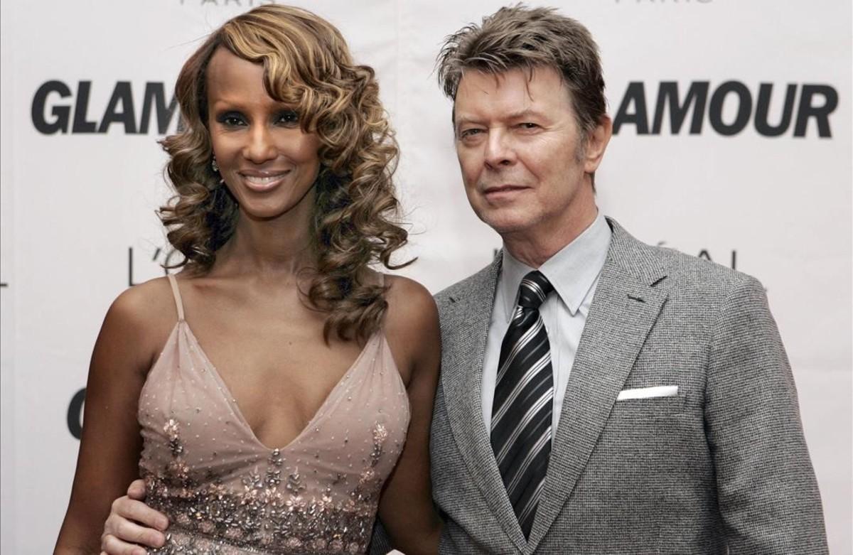 Iman recorda Bowie
