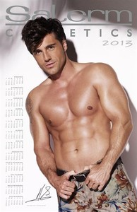 David Bustamante en el calendario Salerm Cosmetics.