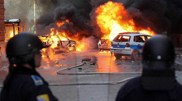 Violentas manifestaciones en Bosnia contra la corrupción y el paro
