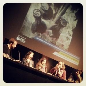 Los ponentes Quim Morales, Pilar Junyent, Cristina Rius, Jordi Pi y Adrià Salas.