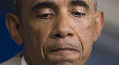 El presidente de EEUU, Barack Obama, durante su intervenci�n.