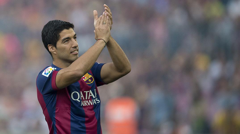 Luis Su�rez, listo para debutar