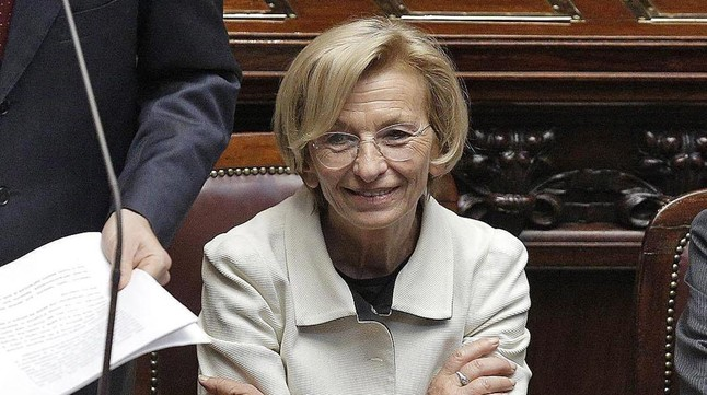 Emma Bonino en la Cámara de los Diputados de Roma en el 2013.
