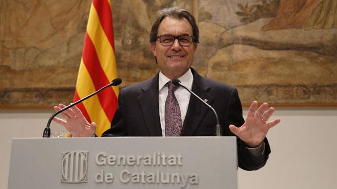 Artur Mas convoca plebiscitarias el 27-S
