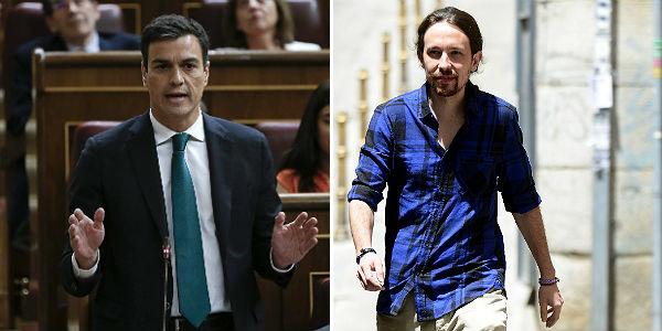 S�nchez e Iglesias vuelven a hablar para abordar pactos frente al PP