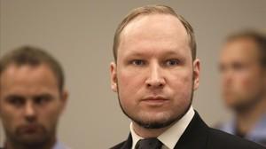 Breivik, en su juicio en Oslo, el 24 de agosto del 2012.