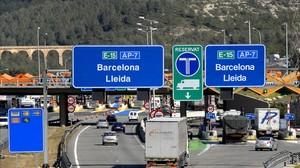 La autopista de peaje AP-7, que gestiona Abertis.